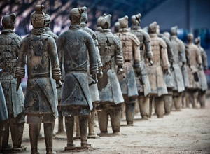 Terracotta Warriors in Xian